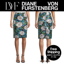 ★DVF★ 可愛い!Sequin Floral Pencil スカート