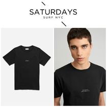 【SATURDAYS NYC]☆新商品☆Gotham Chest T Shirt