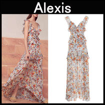 ALEXIS(アレクシス) ワンピース ALEXIS〓Jewell花柄 プリントワンピース
