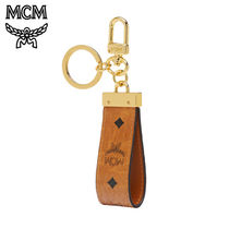 ★MCM★ MCM Key Ring in Visetos Original (MXZ8SVI60)