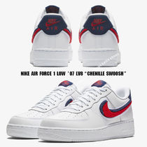 NIKE★AIR FORCE 1 LOW  '07 LV8★CHENILLE SWOOSH★もこもこ
