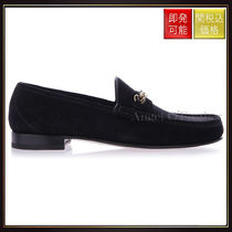 【トムフォード】Sleek Leather Loafers Black