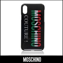 MOSCHINO☆Couture! トリコロール ロゴ♪ iPhone X