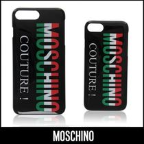 MOSCHINO☆Couture! トリコロール ロゴ♪ iPhone 8 / 8 Plus
