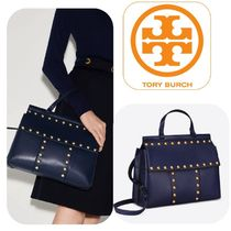 セール Tory Burch Block T stud satchel