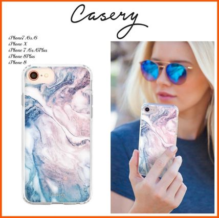 iPhone・スマホケース 最新!!日本未入荷☆THE CASERY ☆CLOUDY MARBLE