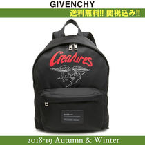 2018-19AW,新作★GIVENCHY(ジバンシイ) CREATURE バックパック