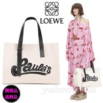 LOEWE Tote Paula Large Bag natural/black
