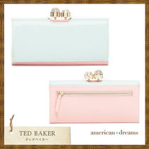 SALE! 即発送 TED BAKER【テッドベイカー】バイカラー長財布