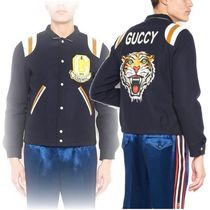 GUCCI(グッチ)PATCHES BOMBER JACKET