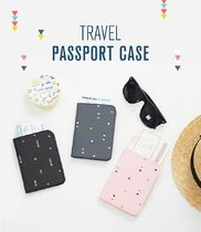【Antenna Shop】 TRAVEL PASSPORT CASE