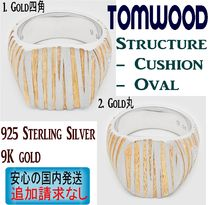 北欧発★Tom Wood★リング Structure Gold Signetシリーズ Woman