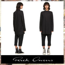 [国内発送]  RICK OWENS  Short Sleeve Moody Tunic Turtleneck