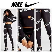NEW Nike  Just Do It All Over Print クロップ&レギンス