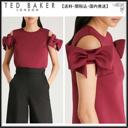 a10db0f8a0e02 BUYMA| 関税込 TED BAKER トップス☆Medoll cold-shoulder bow-embel ...