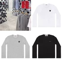 COMME des GARCONS(コムデギャルソン) Tシャツ・カットソー COMME des GARCONS PLAY プレイハート ロングTシャツ