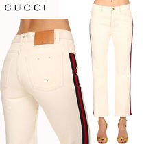 【正規品保証】GUCCI★18秋冬★STRAIGHT LEG COTTON DENIM JEANS