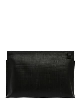 LOEWE クラッチバッグ 【正規品保証】LOEWE★18秋冬★T LEATHER POUCH_BLACK(6)