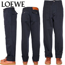 【正規品保証】LOEWE★18秋冬★PATCH POCKET PANTS_MAVY