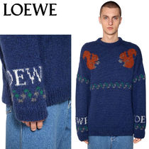 【正規品保証】LOEWE★18秋冬★SQUIRREL JACQUARD WOOL SWEATER