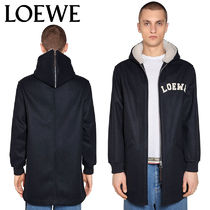 【正規品保証】LOEWE★18秋冬★WOOL KNIT JACKET W/ HOOD
