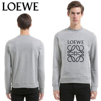 【正規品保証】LOEWE★18秋冬★EMBROIDERED COTTON SWEATSHIRT