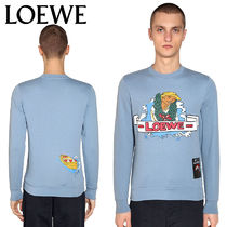 【正規品保証】LOEWE★18秋冬★PRINTED COTTON SWEATSHIRT