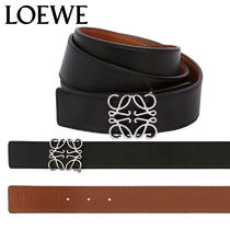 【正規品保証】LOEWE★18秋冬★REVERSIBLE ANAGRAM LEATHER BELT