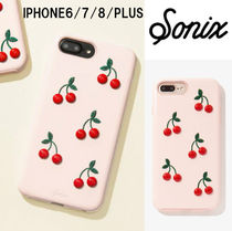 ★Sonix★パテント・チェリー★IPHONE6/7/8plus/CASE★
