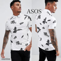 ◆NEW◆ASOS◆ 花柄 プリント ポロシャツ