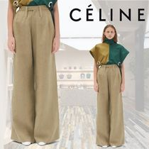 【18AW】★CELINE★OVERSIZE TROUSERS