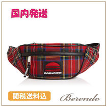 国内発送◆MARC JACOBS Sport Plaid Wool Belt Bag ベルトバッグ