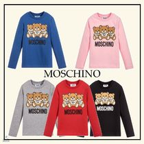 Moschino☆大人もOK KIDS テディベアコットンtop  4-14Y