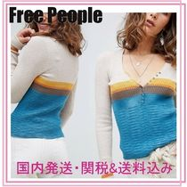 Free People■frequency Vネックセーター
