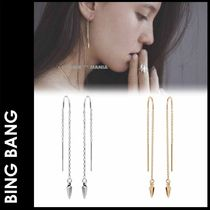 BING BANG(ビンバン ) ピアス ★追跡付【BING BANG】Bullet Threader Earrings