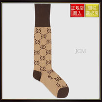 【グッチ】Gg Pattern Cotton Blend Socks Gg Pattern