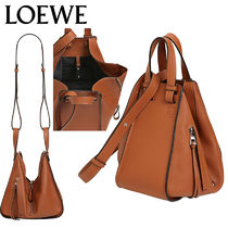 【正規品保証】LOEWE★18秋冬★SMALL HAMMOCK LEATHER BAG
