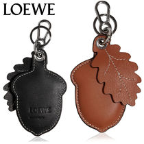 【正規品保証】LOEWE★18秋冬★ACORN & LEAF LEATHER KEY CHAIN