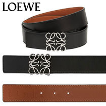 【正規品保証】LOEWE★18秋冬★40MM REVERSIBLE ANAGRAM BELT