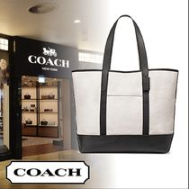 ★COACH WEST TOTE IN COLORBLOCK レザー トート★