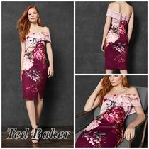"☆2018/19AW☆【TED BAKER】""IRLINA""花柄♪美シルエットドレス"