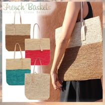 French Baskets(フレンチバスケット) かごバッグ 日本未入荷☆2018新作☆French Baskets☆かごトートバッグ 4色