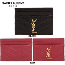 【正規品保証】SAINT LAURENT★18秋冬★LEATHER CARD HOLDER
