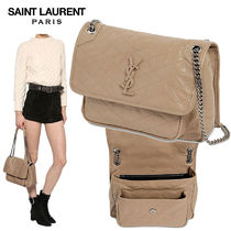 【正規品保証】SAINT LAURENT★18秋冬★MEDIUM NIKI LEATHER BAG