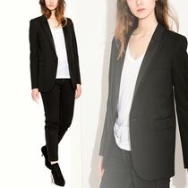 SAINT LAURENT PARIS Black smoking jacket ブラックジャケット