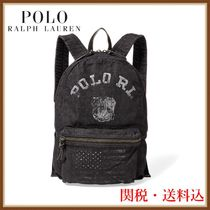POLO RALPH LAUREN ラルフローレン Bulldog Denim Backpack