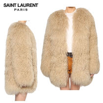 【正規品保証】SAINT LAURENT★18秋冬★MONGOLIAN FUR COAT