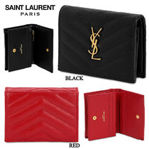 【正規品保証】SAINT LAURENT★18秋冬★GRAINED CARD HOLDER