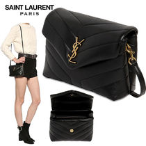 【正規品保証】SAINT LAURENT★18秋冬★MONOGRAM LEATHER BAG