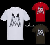 MONCLER(モンクレール) Tシャツ・カットソー 2018AW新作!【MONCLER】MプリントTシャツ♪